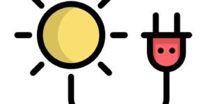 sun plug icon